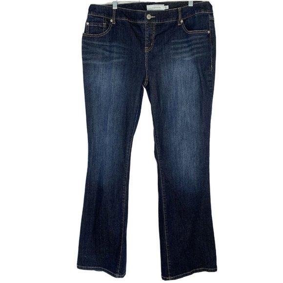 Torrid Bootcut Blue Jeans Size 16